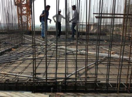Vertical Reinforcement of Concrete Wall