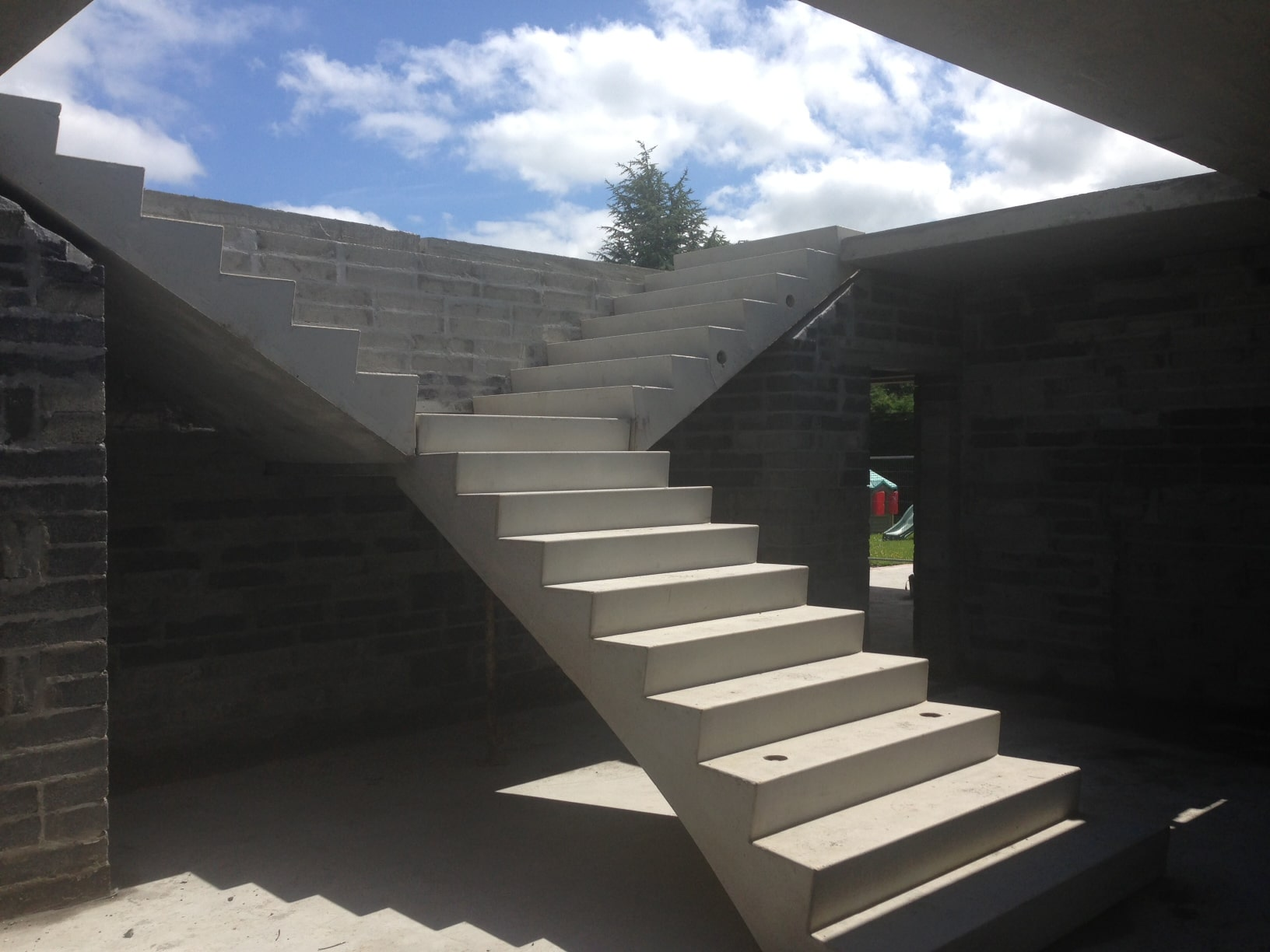 How To Construct Concrete Stairs