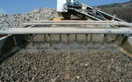 Processing of Crushed Concrete Aggregate