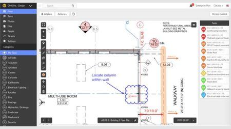 User interface of Plan Viewer software.