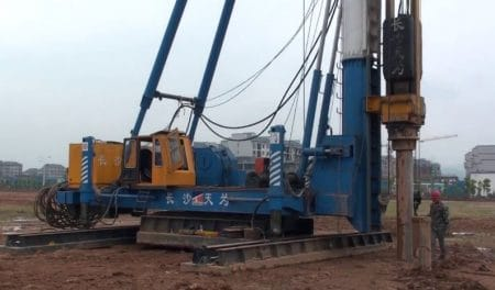 Hydraulic Pile Driving