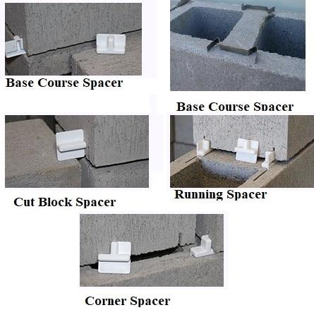 Metallic and Plastic Concrete Block Spacer Types