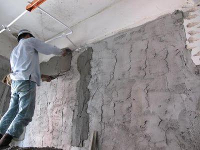 Applying of Finishing coat of plastering work