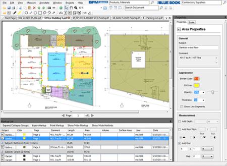 User interface of Vu360 software.