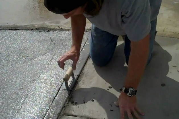 How to Make Chamfered Edge in Concrete