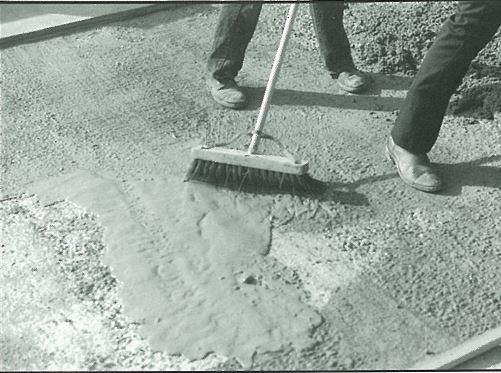 Construction of Bonded Concrete Topping Slab