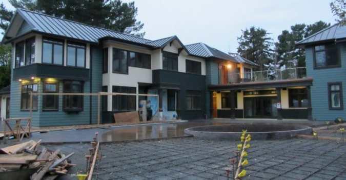 Energy Efficient Concrete Home