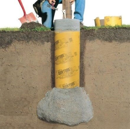 Preventing Frost to Grab Concrete by Using Protections