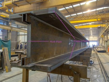 Web and Flange Plates of Plate Girder