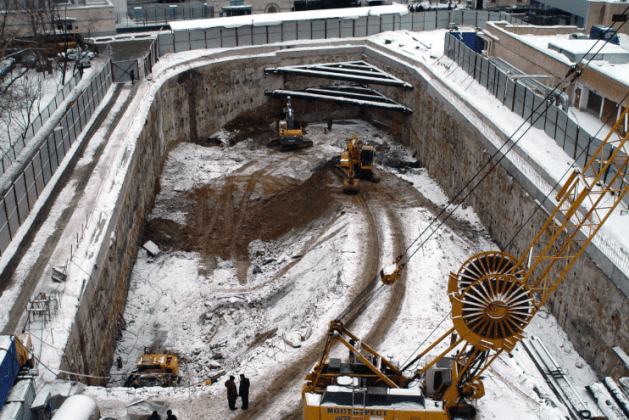 What is a Diaphragm Wall?