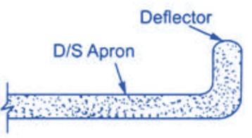Deflector or Baffle Wall