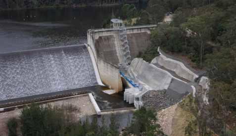 FIsh Lift Structure, Tallowa Dam, Australia