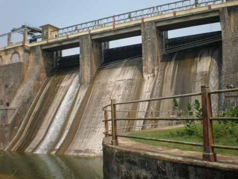 Ogee Spillway of Walayar dam, India