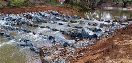 Rock Ramp Fishway