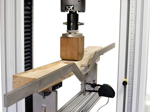 Wooden Beam Test.