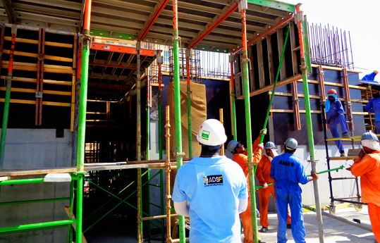 Supervision of Formwork Erection