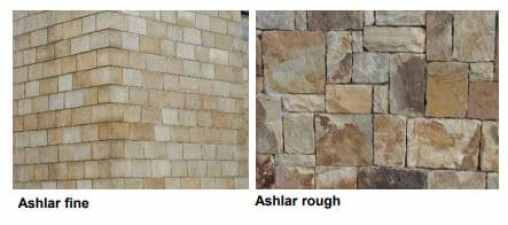 Ashlar Fine and Rough Masonry