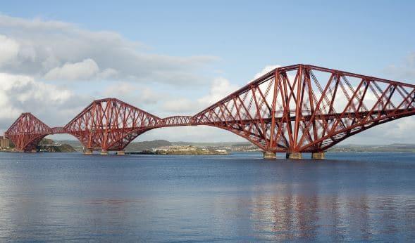 Cantilevered Truss Bridge