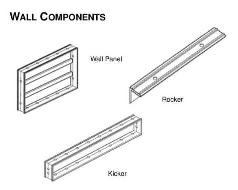 Wall Components in Mivan Shuttering