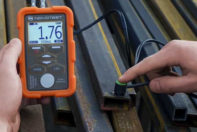 Non-Destructive Test on Structural Steel and Welds