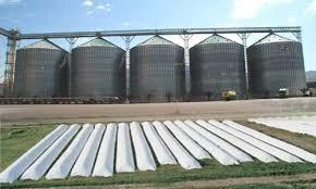 Bag Silos for Grain Storage; Image Source-Silos Cordoba