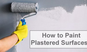 How to Paint Plastered Surfaces? [PDF]
