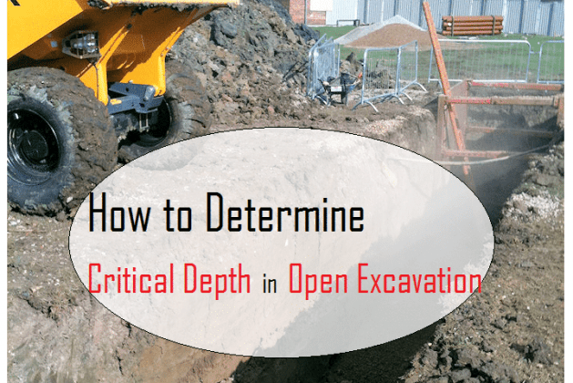 How to determine the Critical Depth in Open Excavation? [PDF]