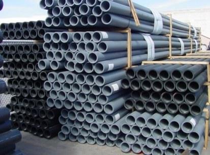 Storage of PVC Pipes