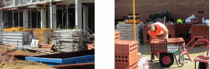 Well Planed Construction Site in which Construction Materials Stored in an a Good Order