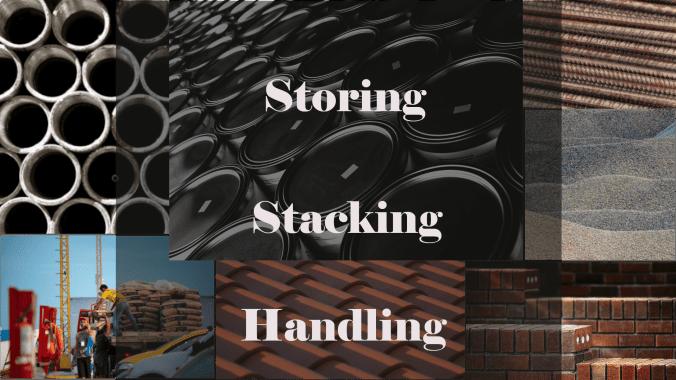 Storing stacking and handling