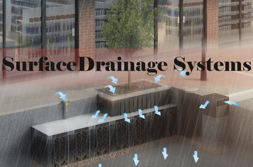 What are the types of Surface Drainage Systems? [PDF]
