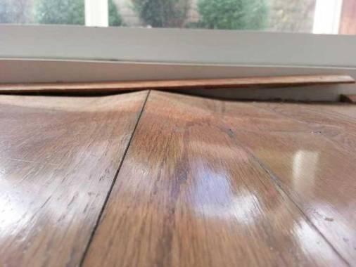 Cupping of Hardwood Floors