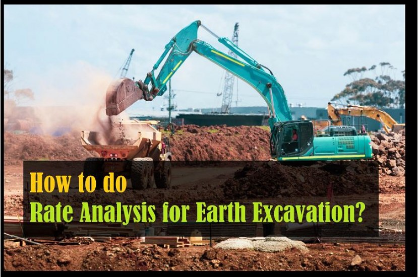 How to Perform Rate Analysis for Earth Excavation? [PDF]