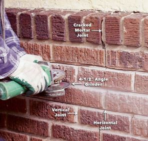 Remove Mortar from the Joint