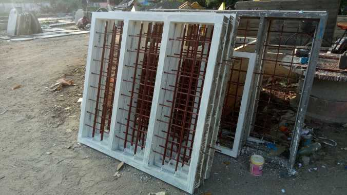 How to Cast, and Fix Precast Concrete Door and Window Frames