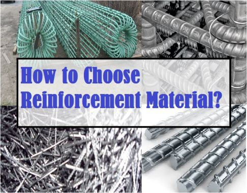 How to choose reinforcing material