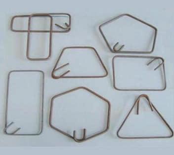 Steel ligatures having different shapes