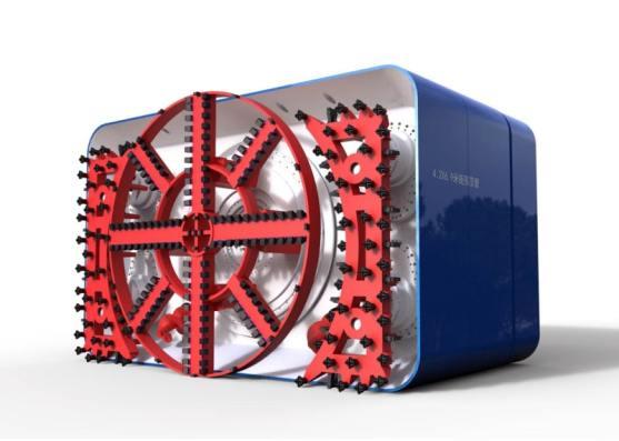 Rectangle TBM Machine
