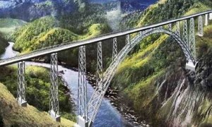 Chenab Bridge: Construction of the World's Highest Rail Bridge
