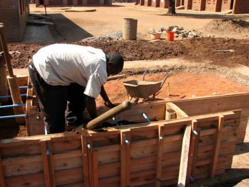 Construction of House using Soil-Cement Walls