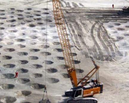 Dynamic Soil Compaction