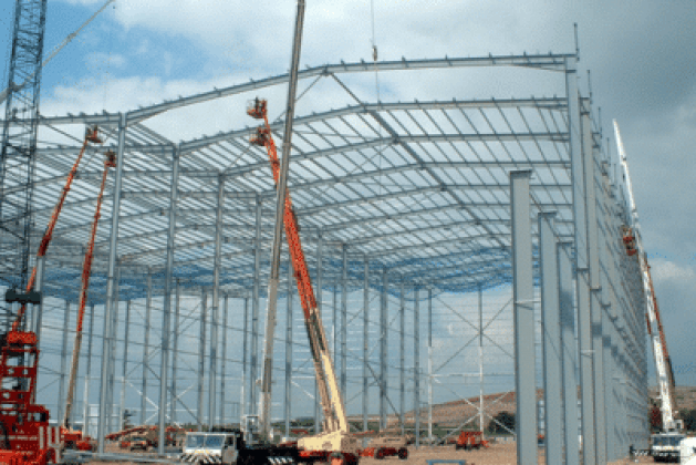 How to Erect Members in Steel Structure Work?