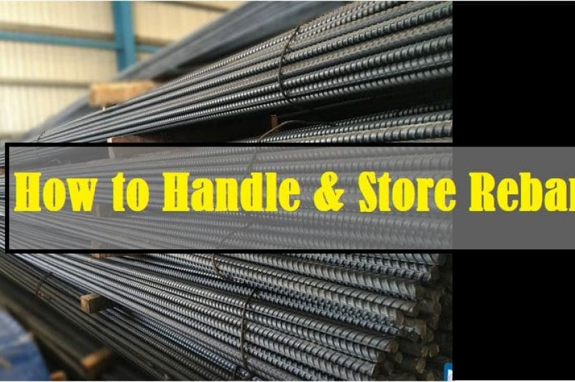 How to Correctly Handle and  Store Reinforcing Bars?