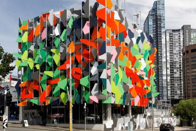 Pixel Building: A Check on Carbon Emissions