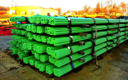 Stacked Epoxy Rebars