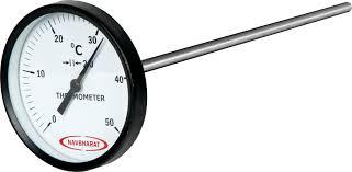 Thermometer to test Concrete Temperature