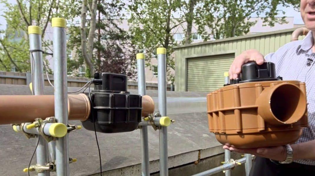 Waste water detection meter