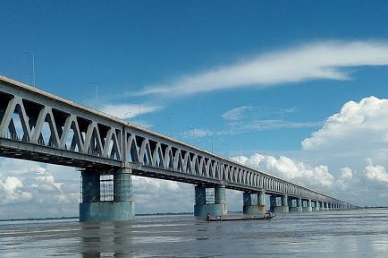 Bogibeel: Construction of the Longest Rail-Road Bridge of India