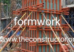 What is the different between smooth form work and rough form work?