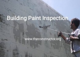 How to Inspect Painting Works in Building?